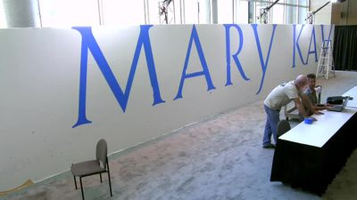 Mary Kay Breaks Guinness World Record with World's Largest Makeup Painting