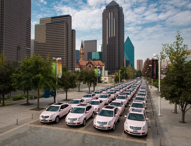 Mary Kay 50th Anniversary Pink Cadillac Rally