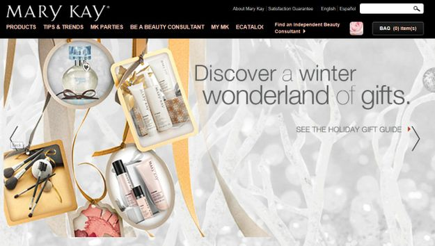 MARY KAY VOTED 'BEST WEBSITE' BY BEAUTY FANS WORLDWIDE