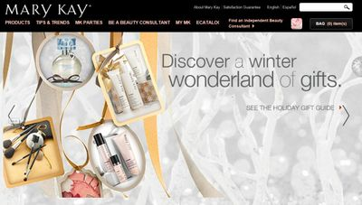 MARY KAY VOTED 'BEST WEBSITE' BY BEAUTY FANS WORLDWIDE