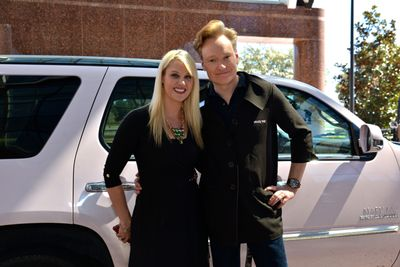Conan O'Brien Becomes Mary Kay Independent Beauty Consultant