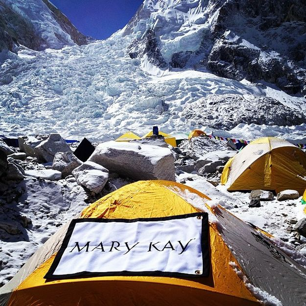 "Mary Kay Flag to Fly on Everest Summit as Mountaineer Katrina ""Kat"" Follows  Attempts Speed Record"
