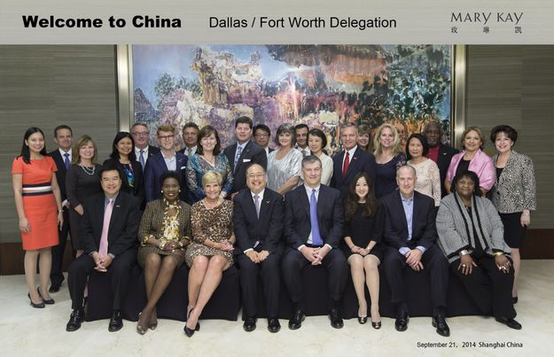Mary Kay China Welcomes the Mayors of Dallas and Ft. Worth