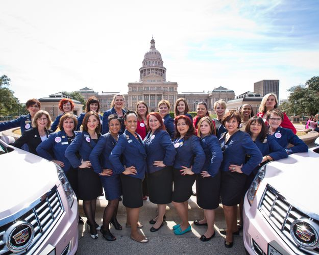 Lobbying for Good - Mary Kay Partners with the Texas Council on Family Violence to Help End Domestic Violence