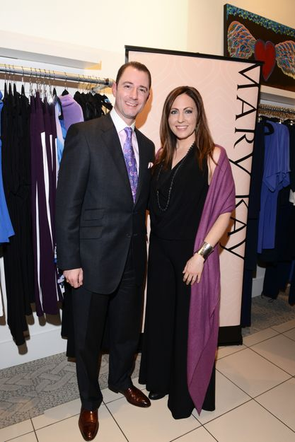 Fashion Designer Abi Ferrin Partners with Mary Kay to Raise Awareness for Domestic Violence Prevention