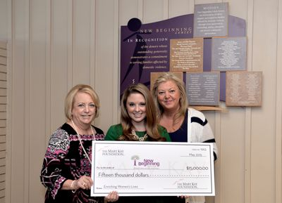New Beginning Center Receives Helping Hand from The Mary Kay Foundation