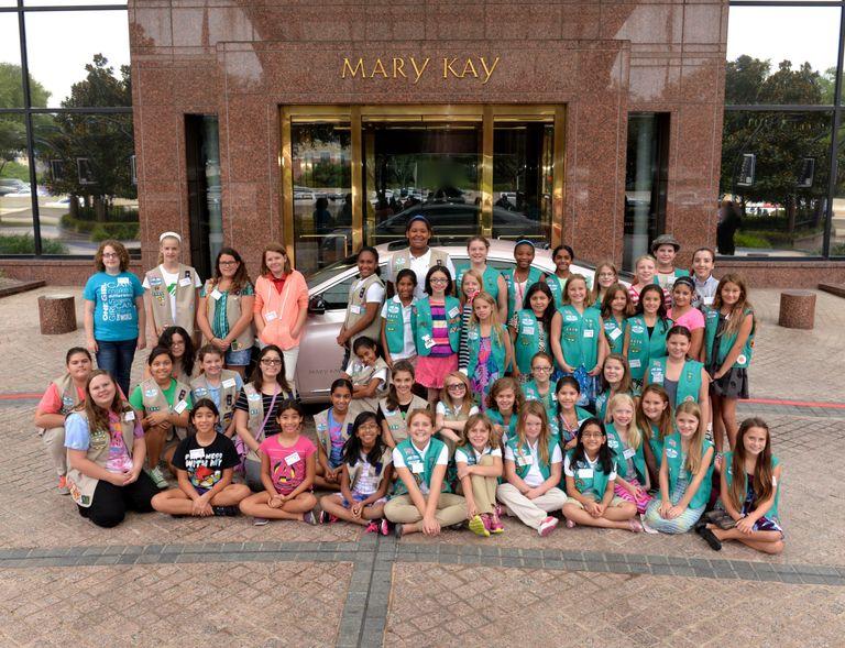 Girl Scouts TMKB group photo 082015