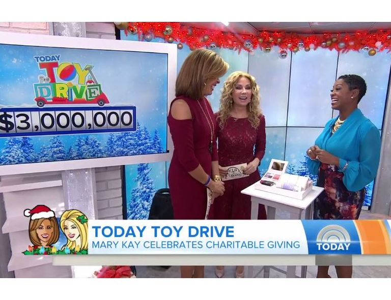 Mary Kay Donates $3 Million to TODAY Show Toy Drive