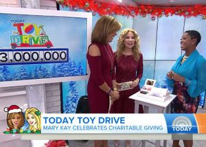 Mary Kay Dona $3 Millones al TODAY Show Toy Drive