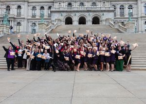 Mary Kay Visits Albany, New York to Lobby for Domestic Violence Prevention Legislation