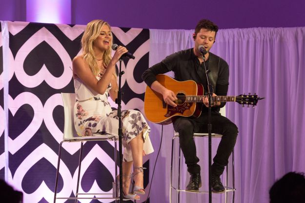 Kelsea Ballerini at Mary Kay Global Day of Beauty