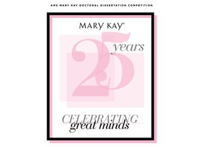 Mary Kay® Celebrates Great Minds And 25th Year Of Partnership With The Academy of Marketing Science