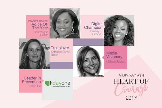2017 Mary Kay Ash Heart of Courage Awardees