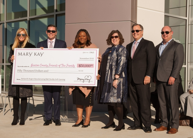 Mary Kay Inc. opens its new global manufacturing and R&D facility in Lewisville, Texas. Photo credit: Roll With It