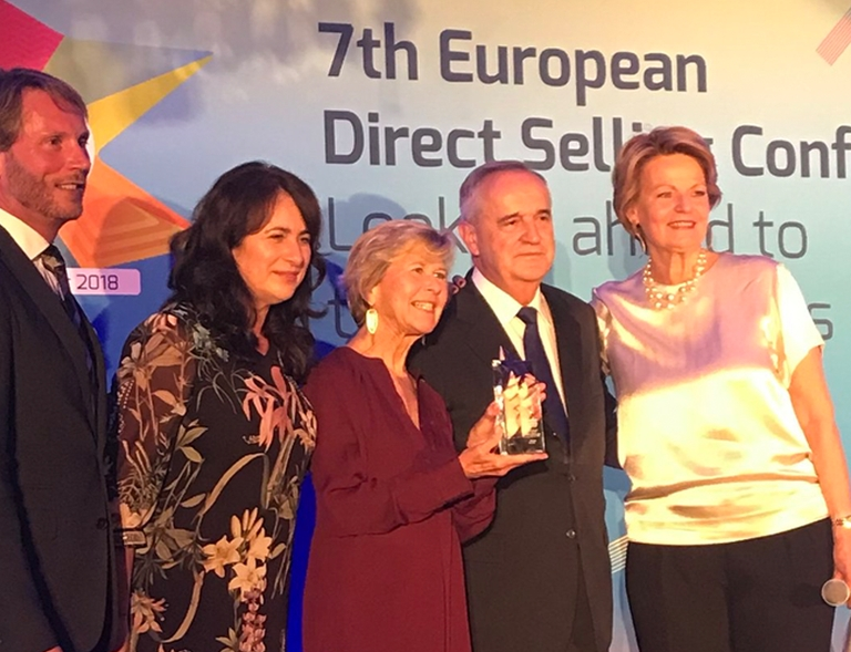 MARY KAY EUROPE RECOGNIZED AS '2018 BEST COMPANY' AT EUROPEAN DIRECT SELLING ASSOCIATION AWARDS