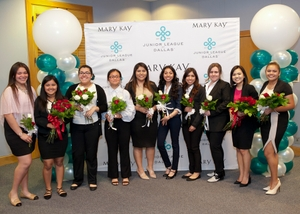 JUNIOR LEAGUE OF DALLAS HOLDS THEIR 2018 WOMEN LEAD SCHOLARSHIP PROGRAM, PRESENTED BY MARY KAY INC., AND DR PEPPER SNAPPLE GROUP,  GRANTING $40,000 IN FUNDING TO TEN COLLEGE-BOUND WOMEN
