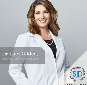 Mary Kay's Chief Scientific Officer, Dr. Lucy Gildea