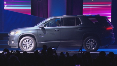 Chevy Traverse 2018 in Graphite Metallic