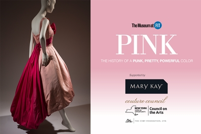 Mary Kay sponsors the opening of 'Pink: The History of a Punk, Pretty, Powerful Color'