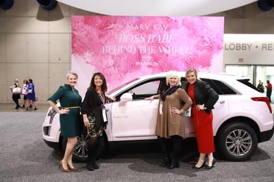El Cadillac rosado Mary Kay del 2019 se exhibirá en la Conferencia de Liderazgo anual de la compañía en Estados Unidos a llevarse a cabo del 16 al 23 de enero en el Centro de Convenciones de San Diego.