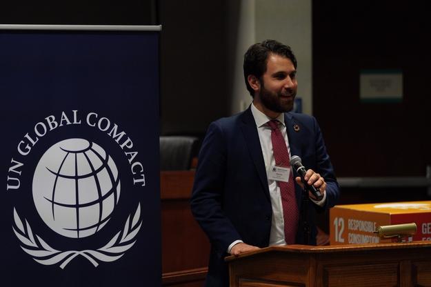 Adam Gordon, Engagement Director UN Global Compact Network USA