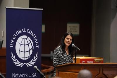 Nina Hachigian, Deputy Mayor of  Los Angeles for International Affairs