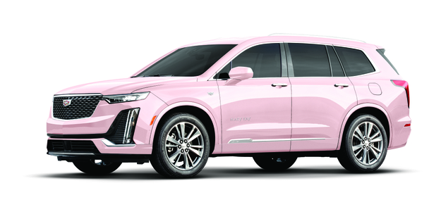 New Mary Kay pink Cadillac XT6.
