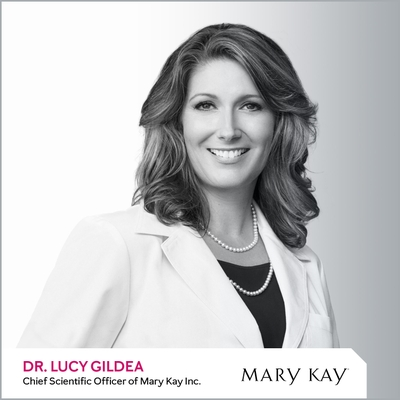 Dr. Lucy Gildea, Chief Scientific Officer of Mary y Kay