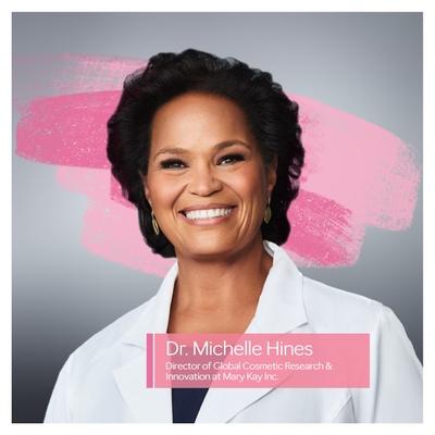 Dr. Michelle Hines, Directora de Investigación Cosmética Global e Innovación de Mary Kay Inc.