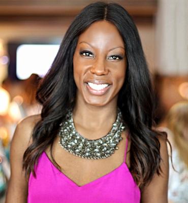 Nicole Young, presentadora de TV, autora y figura influyente en estilos de vida