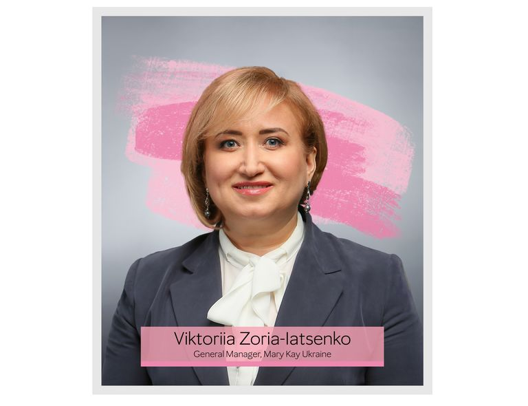 "Viktoriia Zoria-Iatsenko – General Manager, Mary Kay Ukraine, recipient of ""Top 25 Business Women in Ukraine"" award by Vlast Deneg magazine (Power of Money)"