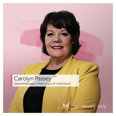 Carolyn Passey, General Manager, Mary Kay United Kingdom & Ireland