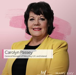 Carolyn Passey, General Manager, Mary Kay United Kingdom & Ireland