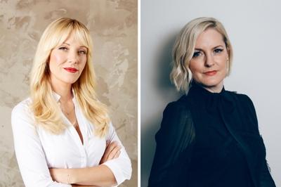 Tara Swennen, estilista de famosos, y Stephanie Sprangers, fundadora de Glamhive