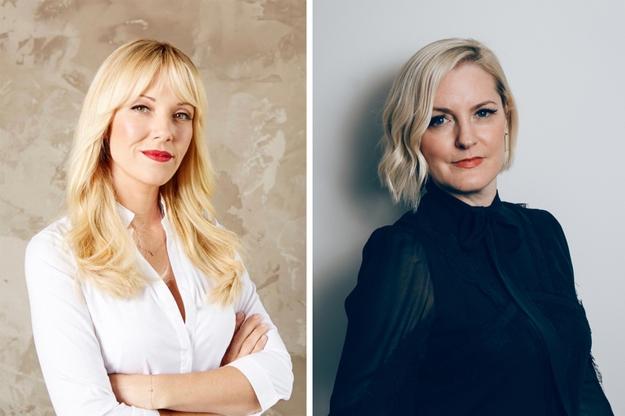 Tara Swennen, celebrity stylist and Stephanie Sprangers, Glamhive founder