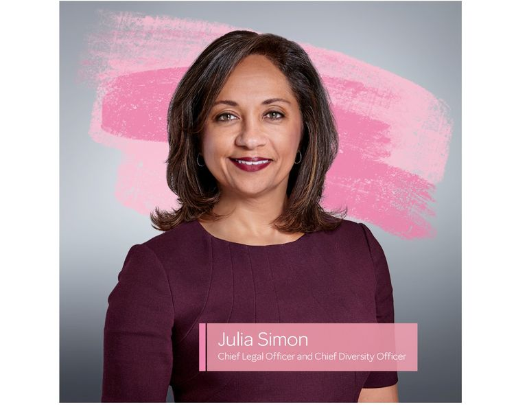 Julia Simon, Chief Legal Officer and Chief Diversity Officer