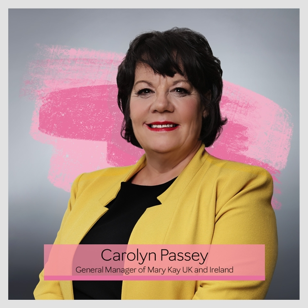 Carolyn Passey General Manager Mary Kay United Kingdom and Ireland