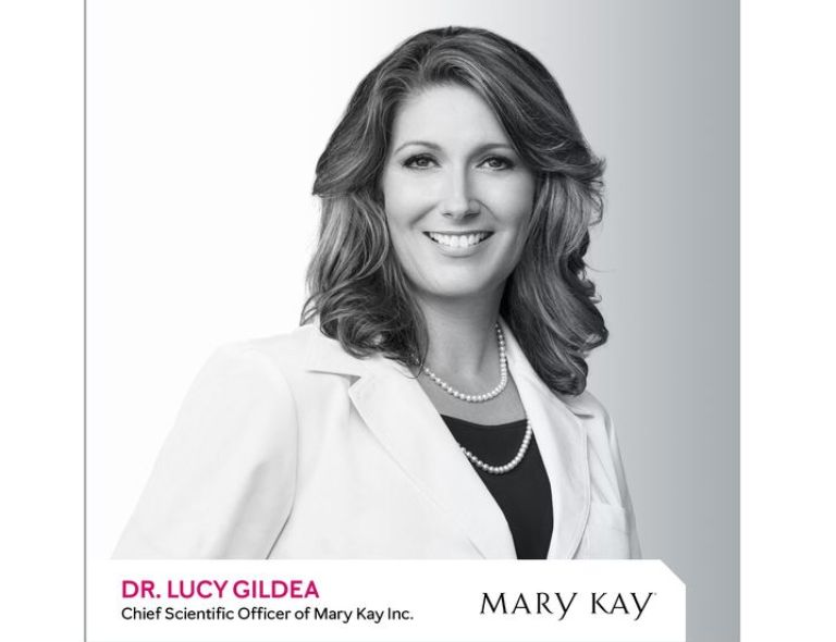 Dr. Lucy Gildea, Mary Kay's Chief Scientific Officer
