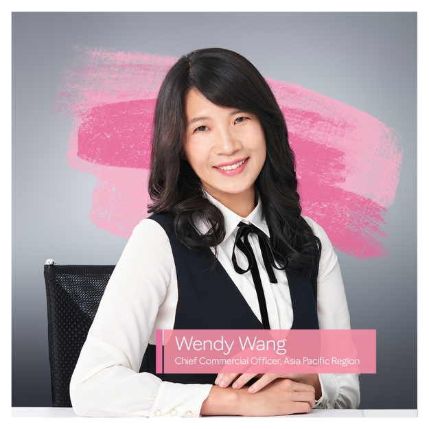Wendy Wang, Chief Commercial Officer of Mary Kay's Asia Pacific Region