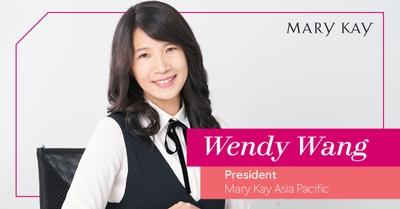 Wendy Wang, presidenta de la región Asia Pacífico de Mary Kay