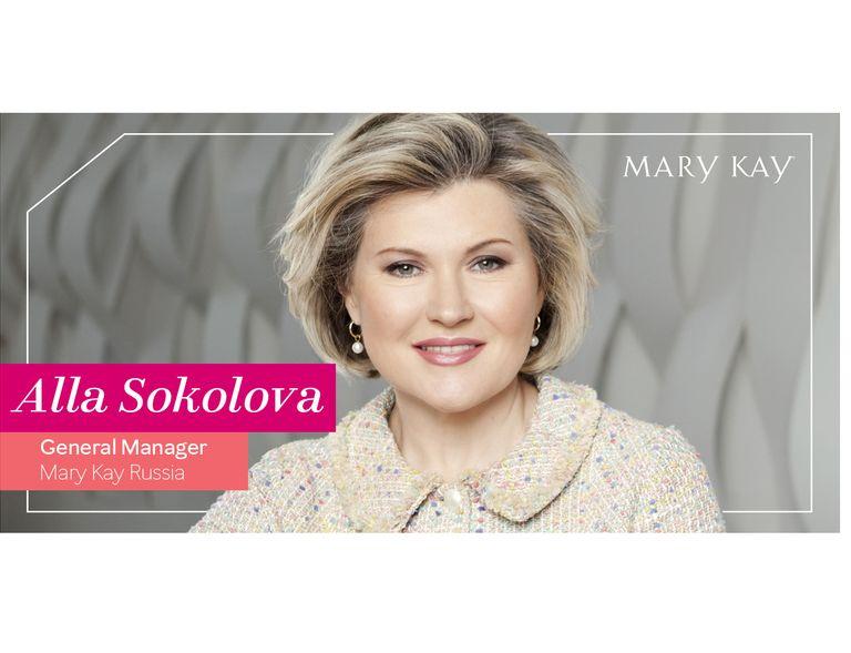 Alla Sokolova, Directora General de Mary Kay Rusia