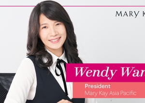 Wendy Wang, President of Mary Kay's Asia Pacific Region