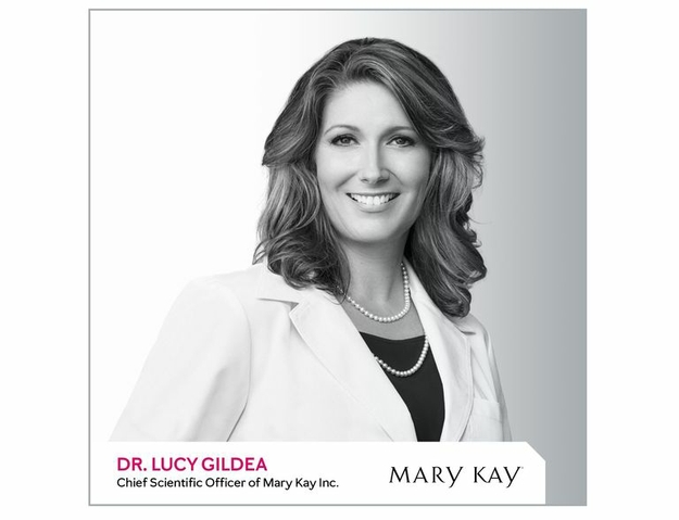 Dr. Lucy Gildea, Chief Scientific Officer at Mary Kay Inc.