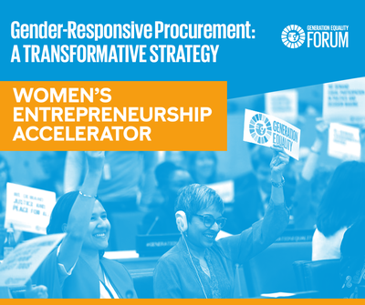 Panel speakers shared insights on how to implement inclusive procurement strategies.