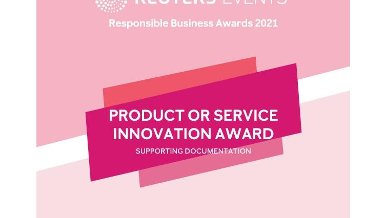 Supporting Documentation for Product or Service Innovation Award