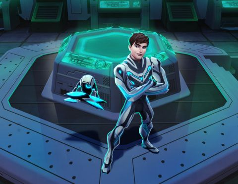 Action-Packed Animated Series Max Steel™ Premieres Monday, March 25, at 4PM (ET/PT)