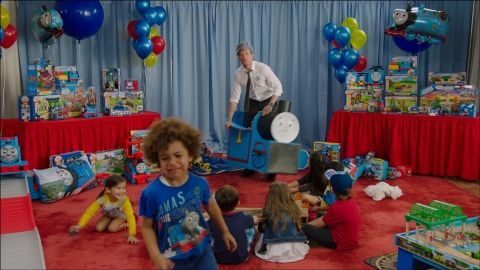 Tankies Unite! Neil Patrick Harris Shows Kids No Mercy Proving He Is #ThomasObsessed