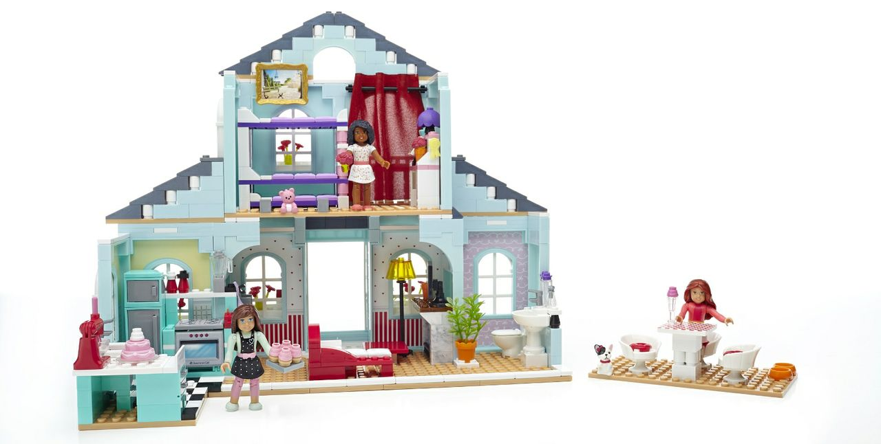 American Girl® Expands Into Construction Space For First Time With Premium Mega Bloks® Playsets For Girls