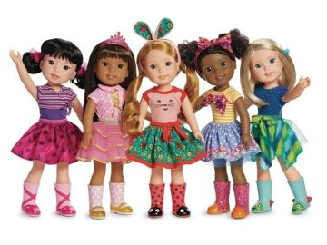 American Girl Debuts WellieWishers(TM) -- A New Content And Doll Lifestyle Brand For Younger Girls Ages 5 To 7