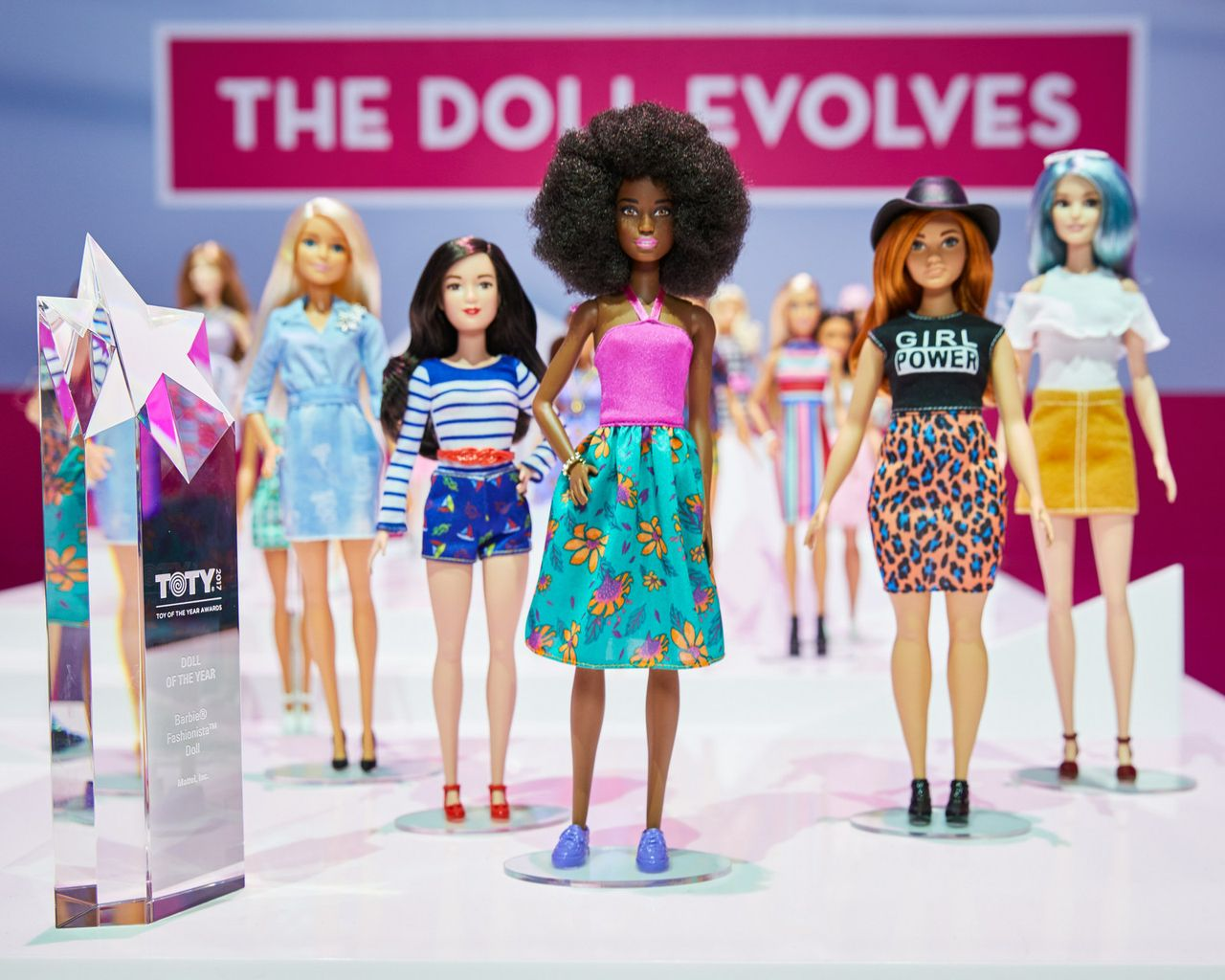 Toys For Awards : Mattel wins toy of the year award for barbie fashionistas